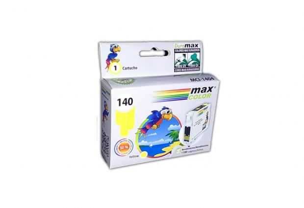 TINTA CARTRIDGE YELLOW 140 EPSON COMPATIBLE